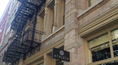 Photo of Women's Store athleta soho at New York, NY, United States