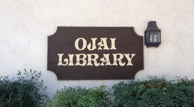 Photo of Library Ojai Library at 111 E Ojai Ave, Ojai, CA 93023, United States