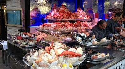 Photo of Seafood Restaurant Le Bar à Huîtres at 33 Boulevard Beaumarchais, Paris 75003, France