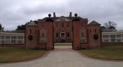 Photo of Historic Site Tryon Palace & Gardens at 610 Pollock St, New Bern, NC 28562, United States