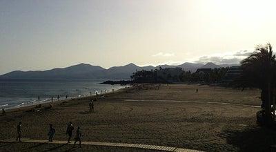 Photo of Beach Playa Grande at Puerto del Carmen, Spain