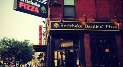 Photo of Pizza Place Artichoke Basille's Pizza & Bar at 114 10th Ave, New York, NY 10011, United States