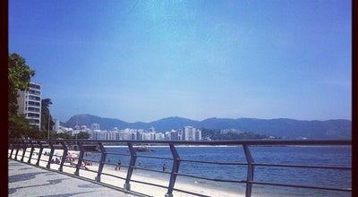 Photo of Beach Praia das Flexas at Av. Alm. Benjamin Sodré, Niterói, Brazil