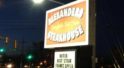 Photo of Steakhouse Alexander's Steakhouse at 620 N Bruns Ln, Springfield, IL 62702, United States