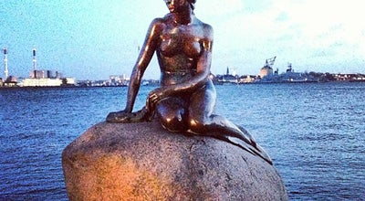 Photo of Monument / Landmark Den Lille Havfrue | The Little Mermaid at Langelinie, Copenhagen 2100, Denmark