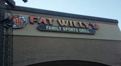 Photo of American Restaurant Fat Willy's Family Sports Grill at 4850 S Gilbert Rd, Chandler, AZ 85249, United States