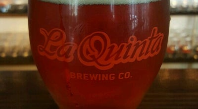 Photo of Beer Garden La Quinta Brewing Co Old Town Taproom at 78-065 Main St #100, La Quinta, CA 92253, United States