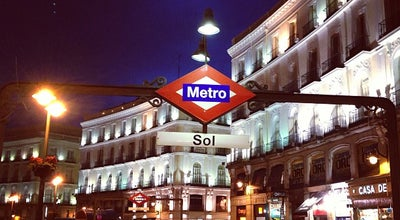 Photo of Subway Metro Sol at Pl. De La Puerta Del Sol, Madrid 28013, Spain