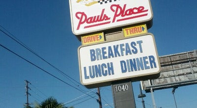 Photo of American Restaurant Paul's Place at 1040 N Magnolia Ave, Anaheim, CA 92801, United States