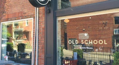 Photo of American Restaurant Old School at 800 Dundas St W, Toronto M6J 1V1, Canada