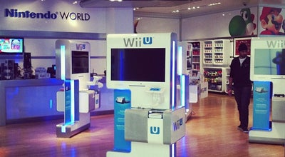 Photo of Video Game Store Nintendo World at 10 Rockefeller Plaza, New York, NY 10020, United States