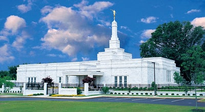 Photo of Temple Memphis Tennessee Temple at 4199 Kirby Whitten Pkwy, Bartlett, TN 38135, United States