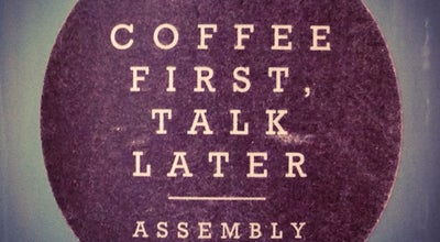 Photo of Cafe Assembly at 26 Evans Road Evan Hostel, Singapore 259367, Singapore