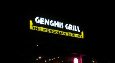 Photo of Asian Restaurant Genghis Grill at 3450 E Hebron Pkwy, Carrollton, TX 75010, United States