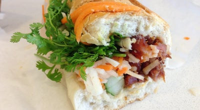 Photo of Sandwich Place Saigon Banh Mi Bakery at 198 Grand St, New York, NY 10013, United States