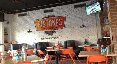 Photo of Bar Pistones Food and Drink Garage at Calle Rosales # 108 Interior B Hermosillo, Hermosillo 83260, Mexico