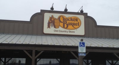 Photo of American Restaurant Cracker Barrel Old Country Store at 101 Appletree Lane I-64 & Route 340, Waynesboro, VA 22980, United States