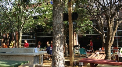 Photo of Beer Garden Katy Trail Ice House Outpost at 4700 W Park Blvd, Plano, TX 75093, United States