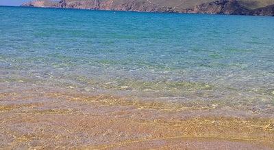 Photo of Beach Φτελιά (Ftelia Beach) at Παραλία Φτελιά, Μύκονος 846 00, Greece