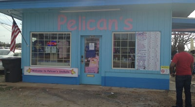 Photo of Dessert Shop Pelican's Snoballs at 7649 N Tryon St, Charlotte, NC 28262, United States