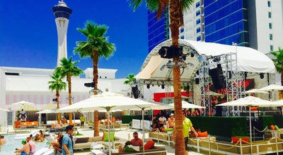 Photo of Pool Foxtail Pool Club at 2535 Las Vegas Blvd S, Las Vegas, NV 89109, United States