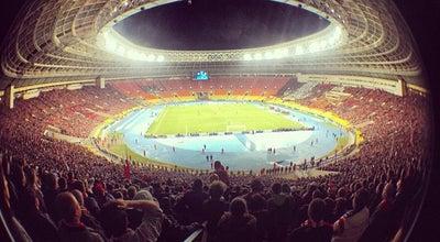 Photo of Soccer Stadium Стадион «Лужники» / Luzhniki Stadium at Лужнецкая Наб., 24, Стр. 1, Москва 119270, Russia