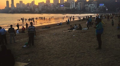 Photo of Beach Girgaum Chowpatty at Off Netaji Shubhash Chandra Bose Road, Mumbai 400 004, India