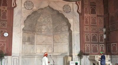Photo of Mosque Jama Masjid at Saket, New Delhi, India