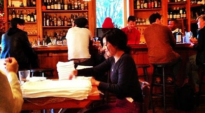 Photo of American Restaurant Allswell at 124 Bedford Ave, Brooklyn, NY 11211, United States