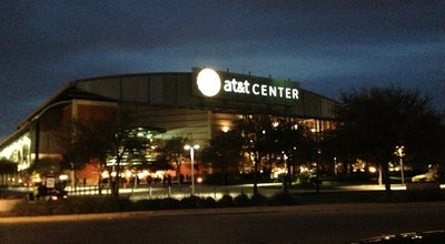 Photo of Basketball Stadium AT&T Center at 1 At&t Center Pkwy, San Antonio, TX 78219, United States