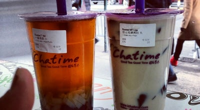 Photo of Bubble Tea Shop Chatime at 22b Bowery, New York, NY 10013, United States
