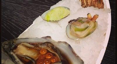 Photo of Seafood Restaurant Espai Kru by Rías de Galicia at C. De Lleida, 7, Barcelona 08004, Spain