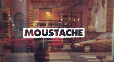 Photo of Middle Eastern Restaurant Moustache at 90 Bedford St, New York, NY 10014, United States