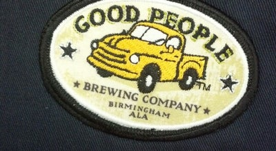 Photo of Beer Garden Good People Brewing at Birmingham-shuttlesworth International Airport, Birmingham, AL 35212, United States