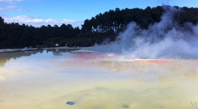 Photo of Hot Spring Wai-O-Tapu Thermal Wonderland at Rd 3 201 Waiotapu Loop Rd, Rotorua 3073, New Zealand