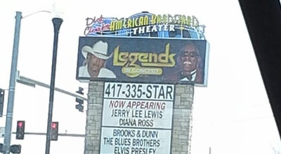 Photo of Concert Hall Legends Theatre at 1600 W 76 Country Blvd, Branson, MO 65616, United States