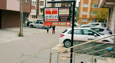 Photo of Bookstore Emin Kitap&Kırtasiye at Fatih Caddesi Hakan Kuaför Yanı, Çorum, Turkey