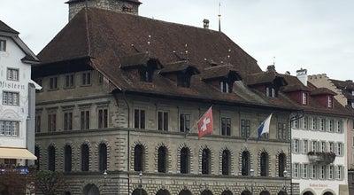 Photo of City Hall Rathaus at Kornmarkt 3, Luzern 0602, Switzerland