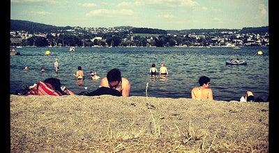 Photo of Beach Strandbad Mythenquai at Mythenquai 95, Zürich 8002, Switzerland