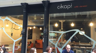 Photo of Coffee Shop Okapi at Belostikalle 26, Bilbao, Spain