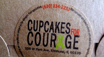 Photo of Cupcake Shop Courageous Bakery at 108 W Park Ave, Elmhurst, IL 60126, United States