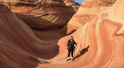 Photo of Trail Coyote Buttes The Wave at Page, AZ, United States