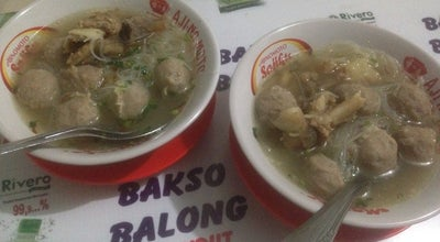 Photo of Dumpling Restaurant Bakso Balong Pak Endut at Indonesia