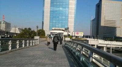Photo of Trail 海浜幕張駅前陸橋 at ひび野1丁目, 千葉市美浜区, Japan