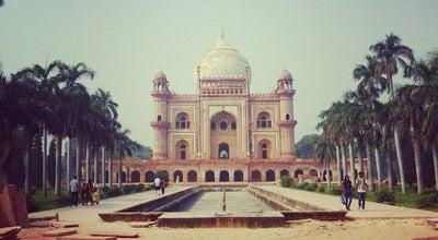 Photo of Historic Site Safdarjung's Tomb | सफदरजंग का मकबरा at New Delhi, India