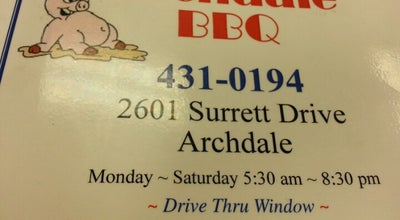 Photo of BBQ Joint Archdale BBQ at 2601 Surrett Dr, Trinity, NC 27370, United States
