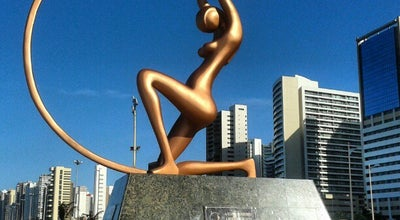 Photo of Outdoor Sculpture Estátua de Iracema at Fortaleza, Brazil