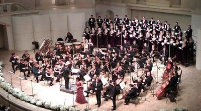 Photo of Concert Hall Концертный зал им. П. И. Чайковского / Tchaikovsky Concert Hall at Триумфальная Пл., 4/31, Москва 125047, Russia