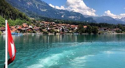 Photo of Lake Brienzersee at Brienz, Switzerland