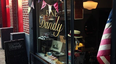 Photo of Men's Store Fine And Dandy at 445 W 49th St, New York, NY 10019, United States